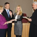 featured image for: <center>HANLON SWORN IN AS ACTING COUNTY CLERK</center>