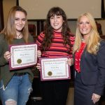 featured image for: <center> COUNTY CLERK HANLON HONORS HIGH SCHOOL  ELECTIONS AND VOTING VIDEO CONTEST  WINNERS AT FREEHOLDER MEETING </center>