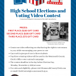 featured image for: <center> COUNTY CLERK HANLON HOSTS HIGH SCHOOL ELECTIONS AND VOTING VIDEO CONTEST TO COMMEMORATE CENTENNIAL OF 19TH AMENDMENT </center>