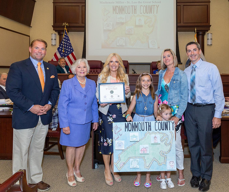 featured image for: <center>COUNTY CLERK, SHERIFF AND SURROGATE HONOR THE 2021 'MY COUNTY' POSTER CONTEST WINNERS<center>