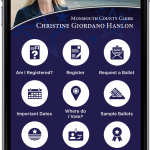 featured image for: <center>COUNTY CLERK ANNOUNCES<br> MOBILE ELECTIONS APP UPGRADE</br></center>